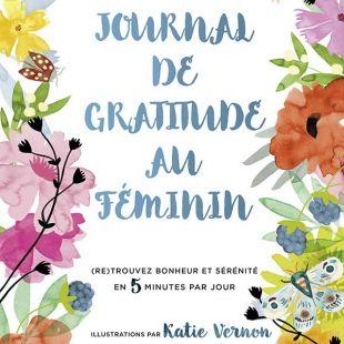 Livre Journal de gratitude au féminin