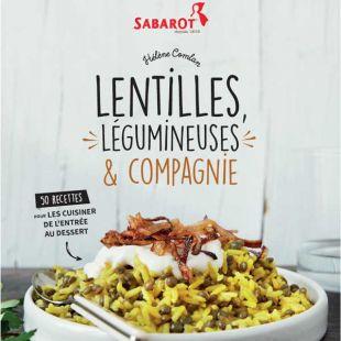 Livre Lentilles et légumineuses éditions Marie Claire