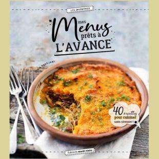 Livre de recettes Menus à l'avance Editions Marie Claire
