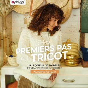 Livre mes premiers pas au tricot Editions Marie Claire