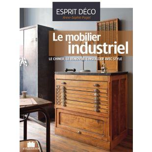 Livre le mobilier industriel editions massin