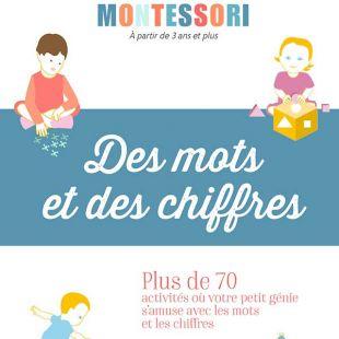 Livre Montessori - Des mots et des chiffres