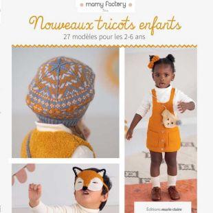 Livre tricot nouveaux tricots pour enfants