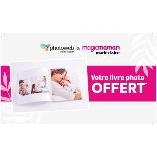 Livre photo Style Carré format 20x20cm 24 pages Photoweb