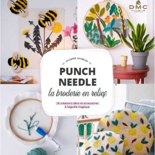 livre punch needle editions marie claire
