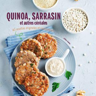Livre quinoa, sarrasin, et autres céréales editions marie claire