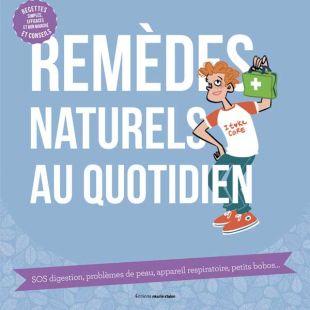 livre remèdes naturels au quotidien editions marie claire