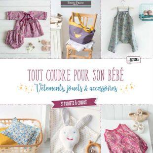 Livre tout coudre pour bébé Frou-Frou Editions Marie Claire