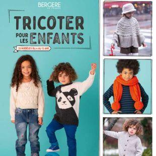 Livre tricoter pour les enfants de 4 à 12 ans editions marie claire