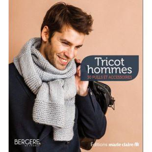livre tricot homme