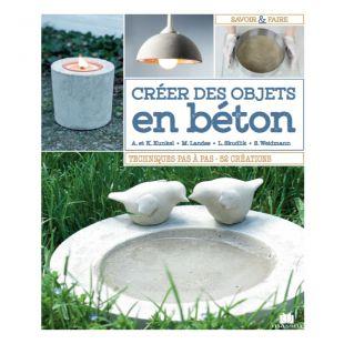 Livre Créer des objets en béton