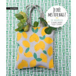 Je crée mes tote bags editions marie claire