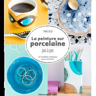 Livre la peinture sur porcelaine Éditions Marie Claire