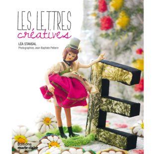 livre lettres créatives Éditions Marie Claire