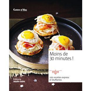 Livre recettes en moins de 30 minutes