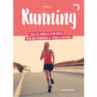 Livre Running editions marie claire