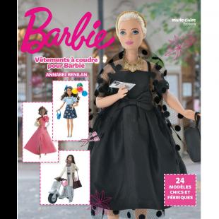 vetements à coudre pour barbie livre