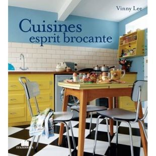 livre cuisines esprit brocante