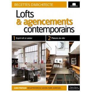 livre loft et agencements contemporains