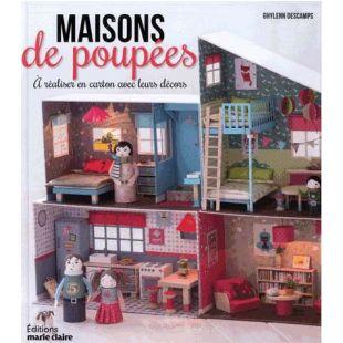 Livre Maisons de poupées Éditions Marie Claire
