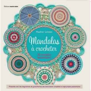 Livre Mandalas à crocheter Éditions Marie Claire