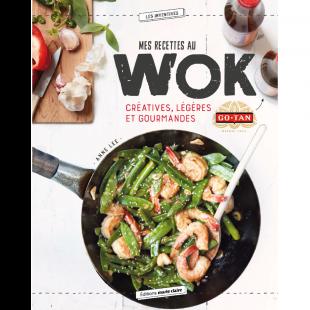 livre mes recettes au wok Editions marie claire