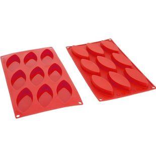 Moule à barquettes silicone Décoflex 9 pièces