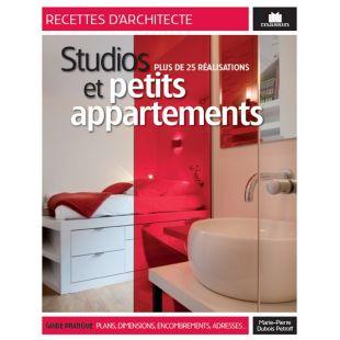 Livre studios et petits appartements editions massin