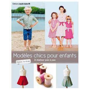 livre modèles chics pour enfants