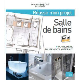 Livre projet salle de bains editions massin