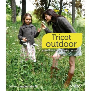 Livre tricot outdoor nature Editions Marie Claire