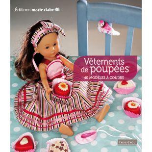 livre vêtements de poupées couture