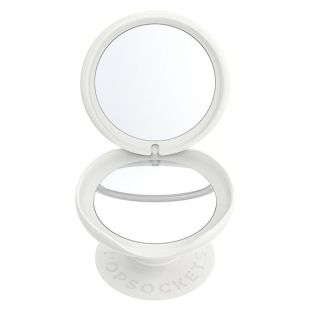 PopGrip Mirror Dove White Marble