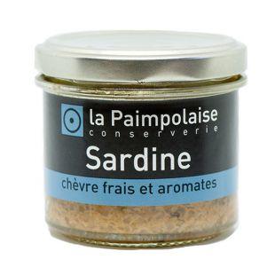 Sardine chèvre frais & aromates