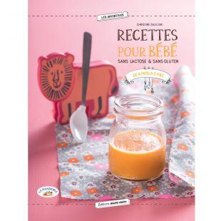 livre recettes pour bébé sans lactose & gluten