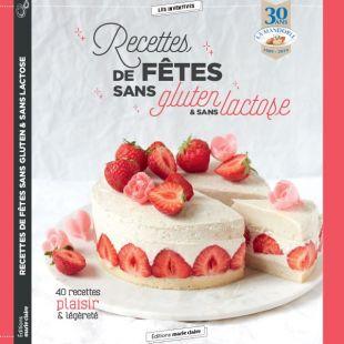 livre de cuisine recettes de fetes sans guten et lactose