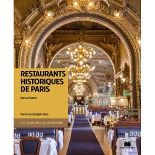 livre restaurants historiques de Paris