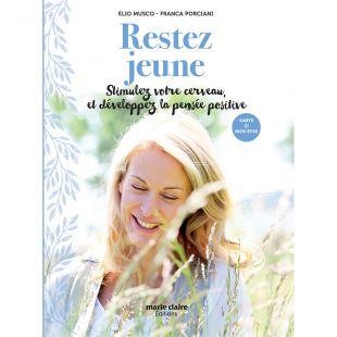 livre vie pratique restez jeune Editions marie Claire