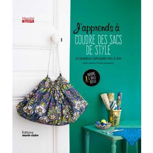 livre j'apprends à coudre des sacs de style Éditions Marie Claire