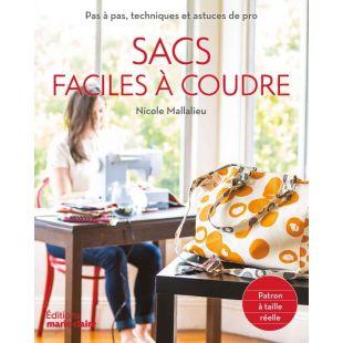 Livre sac couture facile - édition marie claire - 195 pages
