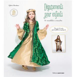 Livre déguisements pour enfants editions marie claire