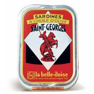 Sardines à l'huile d'olive Saint Georges La Belle-Iloise