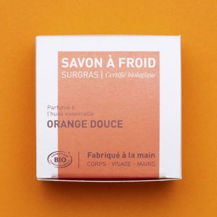 Savon à froid – Orange douce