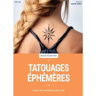 livre tatouages éphémères editions marie claire