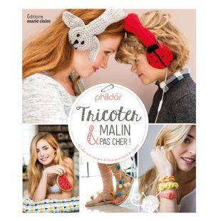 livre tricot malin pas cher Éditions Marie Claire