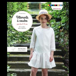 livre de couture vetements pour enfants de 8 à 12 ans des editions marie claire