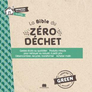 Livre La Bible du zéro déchet Editions Massin